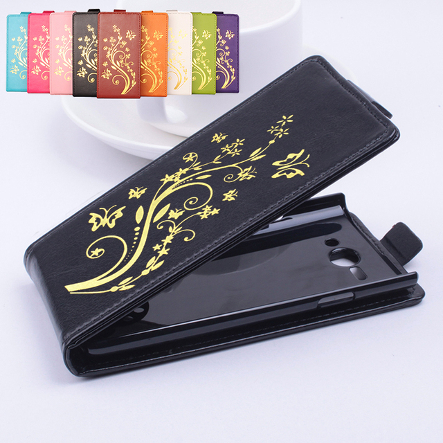 Gold Paillette High Quality Leather Case For PHILIPS S388 Case Flip Cover For PHILIPS S 388 Cover Phone Housing Shell