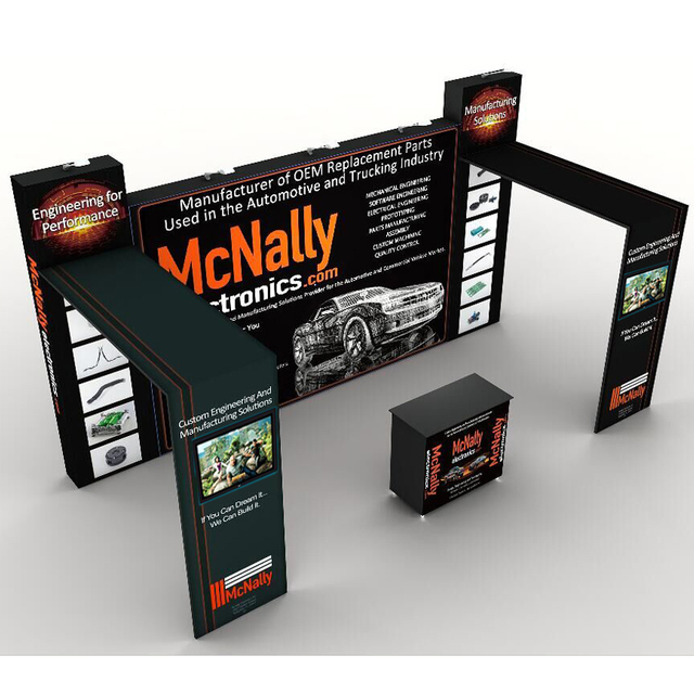 Portable Exhibition Games : Ft portable tension fabric trade show display exhibition sets