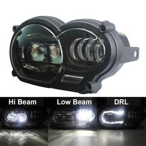 Image 1 - Led ヘッドライトアセンブリ新オートバイライト照明 DRL ミニタッチデジタイザースクリーン BMW R1200GS 2008 2009 2010 2011 保護カバー
