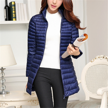 цена на Winter Down Jacket Fashion Woman Down Parkas Jackets Korean Women Long Parka Coat Women Down Thick Jacket Plus Size Women Coats