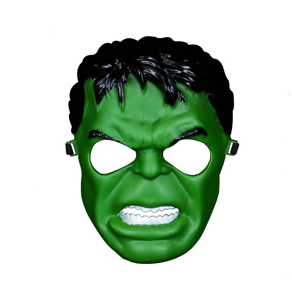 The Avengers Hulk Mask Green Giant Mask for Party Halloween Cosplay Costume Accessory Toy Adults Kids Gift