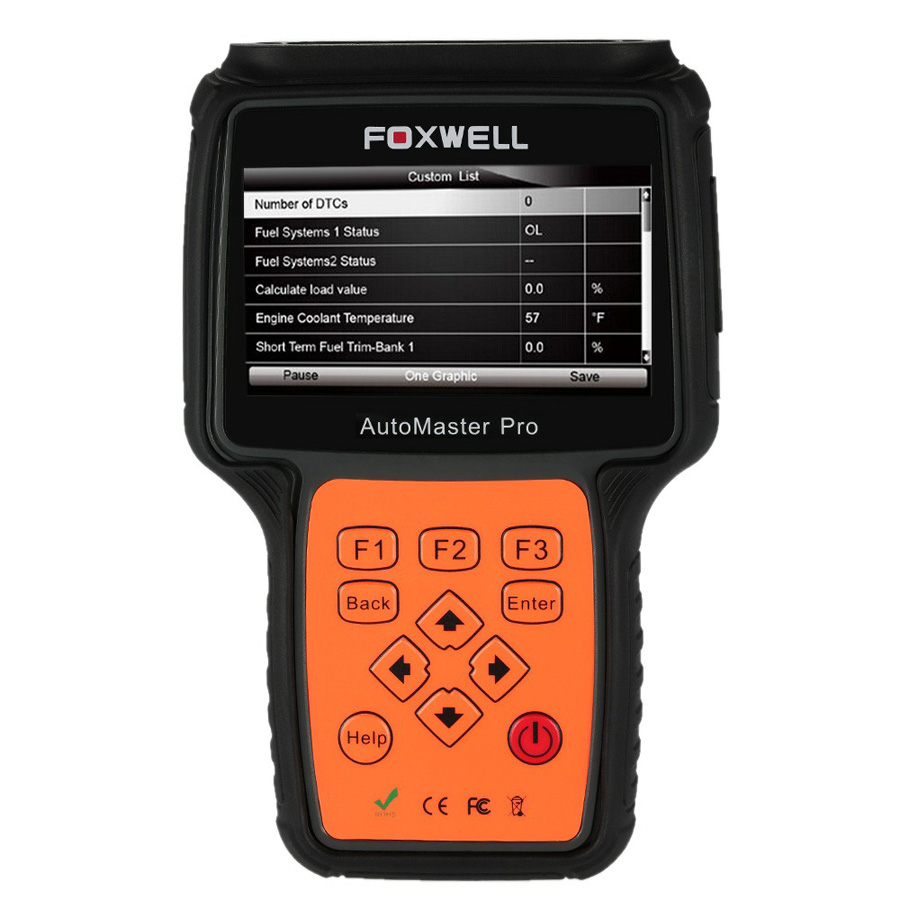 New Arrival Foxwell NT644 AutoMaster Pro All Makes Full Systems EPB Oil Service Scanner Foxwell NT644