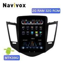 Navivox Android 6,0 вертикальный экран Автомобильный мультимедийный плеер для Chevrolet Cruze 2009-2015 Навигация стерео gps радио с 4G слотом