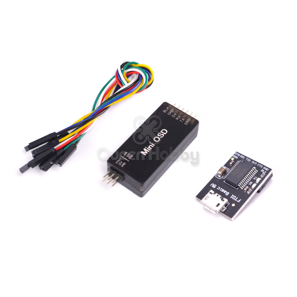 MinimOSD Mini Placa OSD On Screen Display Video Record para APM Mavlink Apoio 2.5 2.6 2.8 Controlador de Vôo de RC FPV peça de reposição