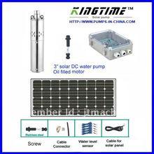 5 года гарантии Солнечный водяной насос, солнечный скважинный насос системы, dc насос для глубоких скважин, бесплатная доставка, No модели: JS3-2.3-140