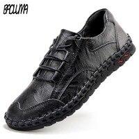 Мужские кожаные кроссовки; роскошные фирменные дизайнерские лоферы; мужская повседневная обувь; мокасины из натуральной кожи; прогулочная ...