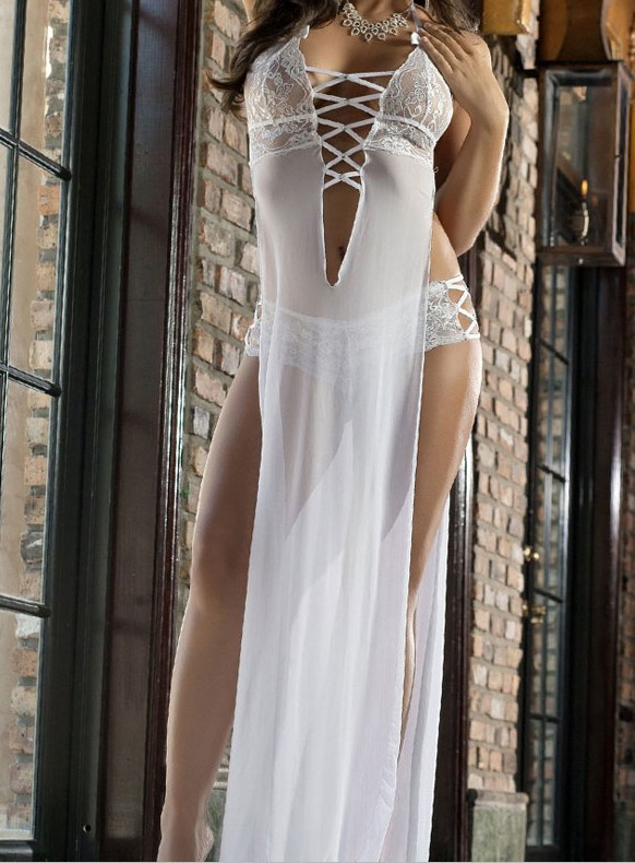 White-Sheerly-Seductive-Sexy-Gown-LC6795-1-1