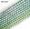 Free Shipping 32 Beads Set 83g Natural Dominician Republic 12mm Larimar Loose Beads Stone For Jewelry