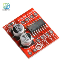 1.5A 2-Way MX1508 Dual Channel DC Motor Driver Module PWM Speed H-Bridge Stepper L298N