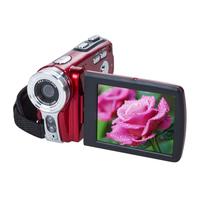 Popular Travel Portable 20MP 16x Zoom Digital Video Camera Electronic Anti-Shaking   Camcorder   DV Red/Black