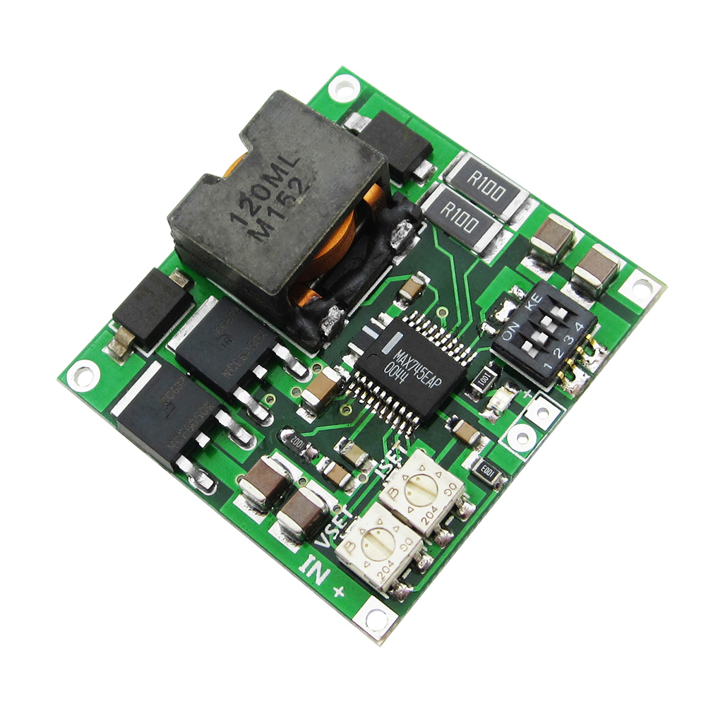 Free shipping MAX745 4.2 4.35V 1-4 Packs Lithium Battery Charging Board Voltage Current adjust 30a 3s polymer lithium battery cell charger protection board pcb 18650 li ion lithium battery charging module 12 8 16v
