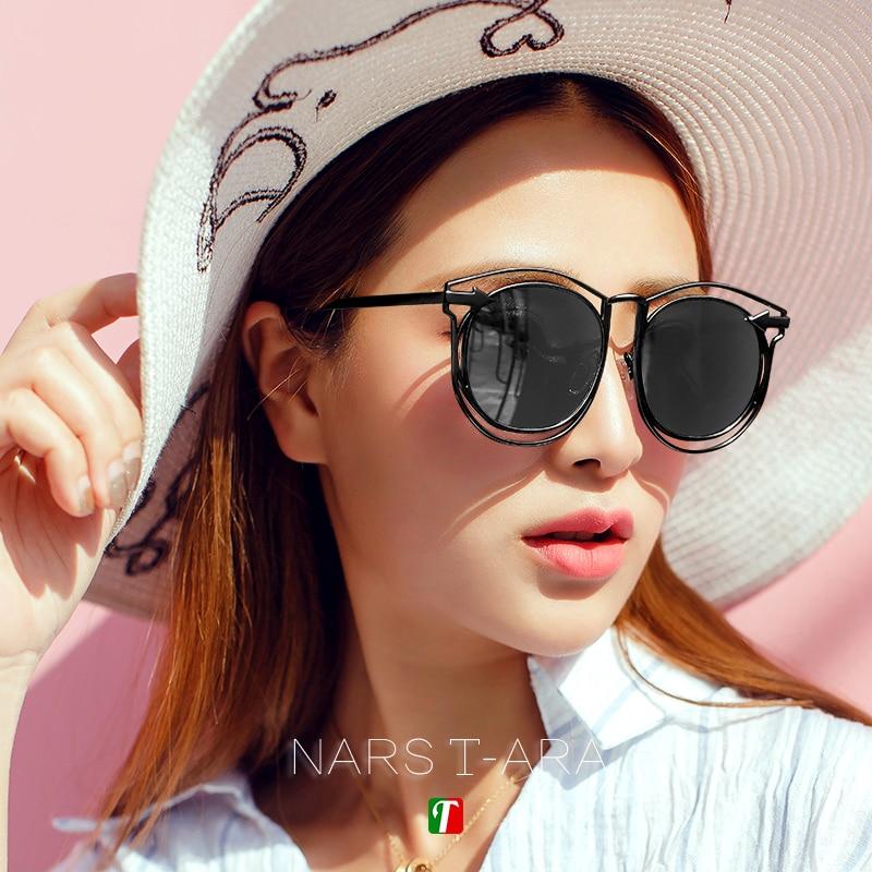 Vintage Sunglasses Black Retro Hollow Lentes De Sol Sun Glasses for Women Zonnebril Mannen Sonnenbrille Round Lunette De Soleil