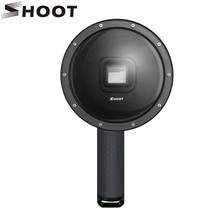 SCHIEßEN 6 zoll Dome für Gopro Hero 5 Black Action Kamera mit Wasserdichte Gehäuse Go Pro Hero5 Objektiv Dome Port für GoPro Accesory