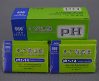 Free Shipping 8000 Strips 1~14 PH Testing Paper Alkaline Acid Test Water Litmus Testing 100 Packs ( 80 Strips per pack)