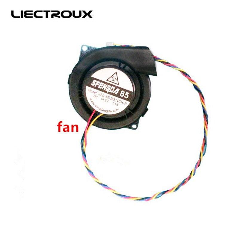 (B6009) Assembléia Fan para Aspiração Robot LIECTROUX B6009, 1 pc/pacote