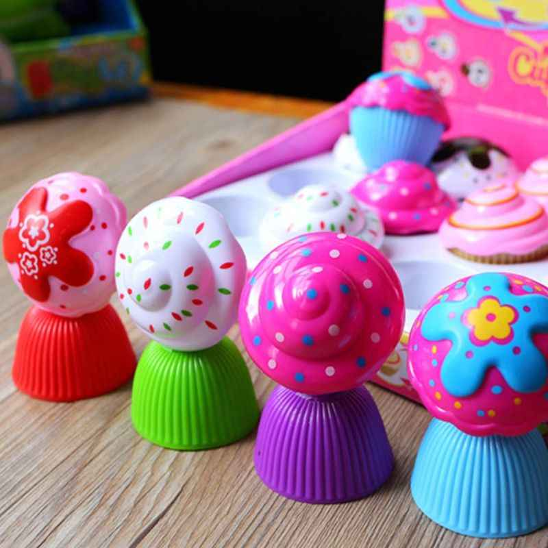 Mini Dễ Thương Bánh Búp Bê Đồ Chơi Cupcake Công Chúa Trẻ Em Trẻ Em Chuyển Đổi Thơm Cô Gái Trò Chơi Vui Nhộn Sinh Nhật Bất Ngờ Quà Tặng