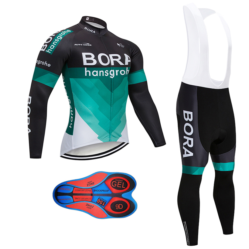Winter cycling Clothing 2018 bike Team Men s Thermal Fleece Cycling Jersey  Bike clothes bib pants Set Ropa Ciclismo Invierno e748a8fd0
