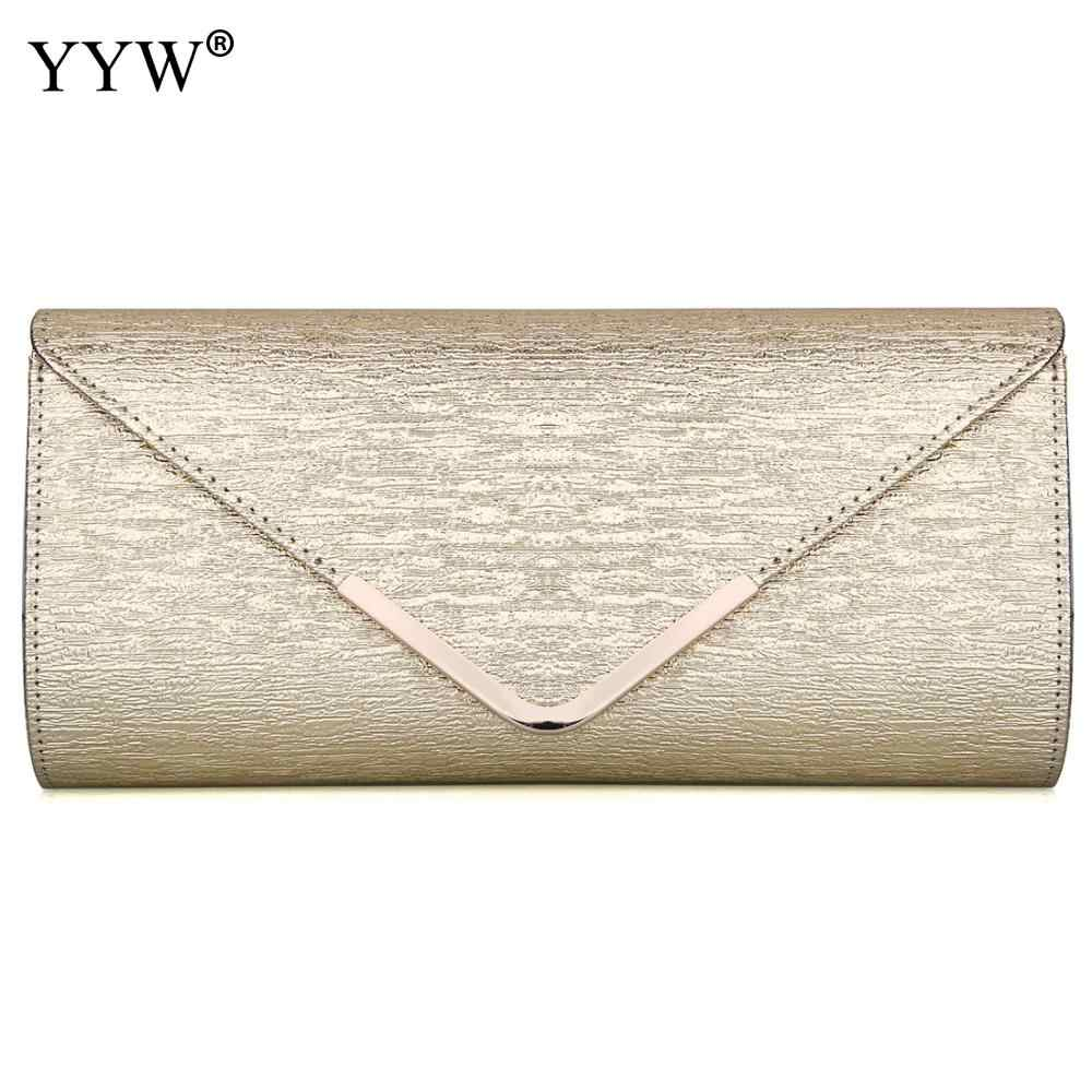 e417d0922e66d Fashion Ladies Upscale Evening Party Women' Handbags Gold Small Clutch Bag  Silver Female Banquet Purse