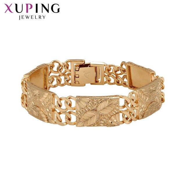 1fd8e85714e9 Venta barata Xuping moda de lujo chapado en oro Color Popular diseño ...