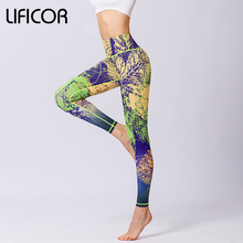 Women Yoga Pants Workout Leggings Fitness Running leggins Sport Print Athletic Pants Fitness jeggings Gym Clothing Sweatpants