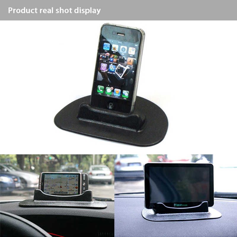 LENTAI 1PC Car Silicone Anti-Slip Mat Dashboard Phone Shelf For Renault  Megane 3 Duster Captur Chevrolet Cruze Aveo Captiva