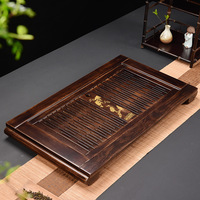 75*45*6.5cm Wood Tea Tray Boutique Chinese Kung Fu Tea Tray Home Office Tea Table Decoration Tea Accessorie Free Shipping