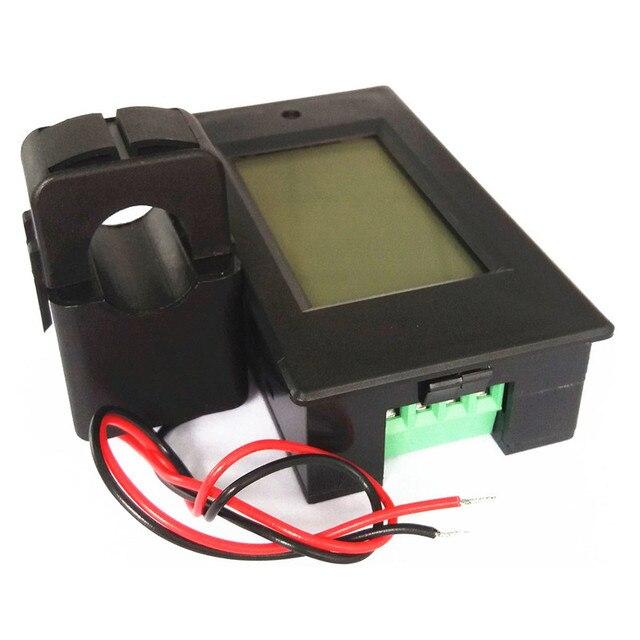 PZEM-061 AC 80-260V 0-100A Voltage Volt Current Meter AC 100A Digital LCD Wattmeter Power Energy Amperemeter 110V 220V meters