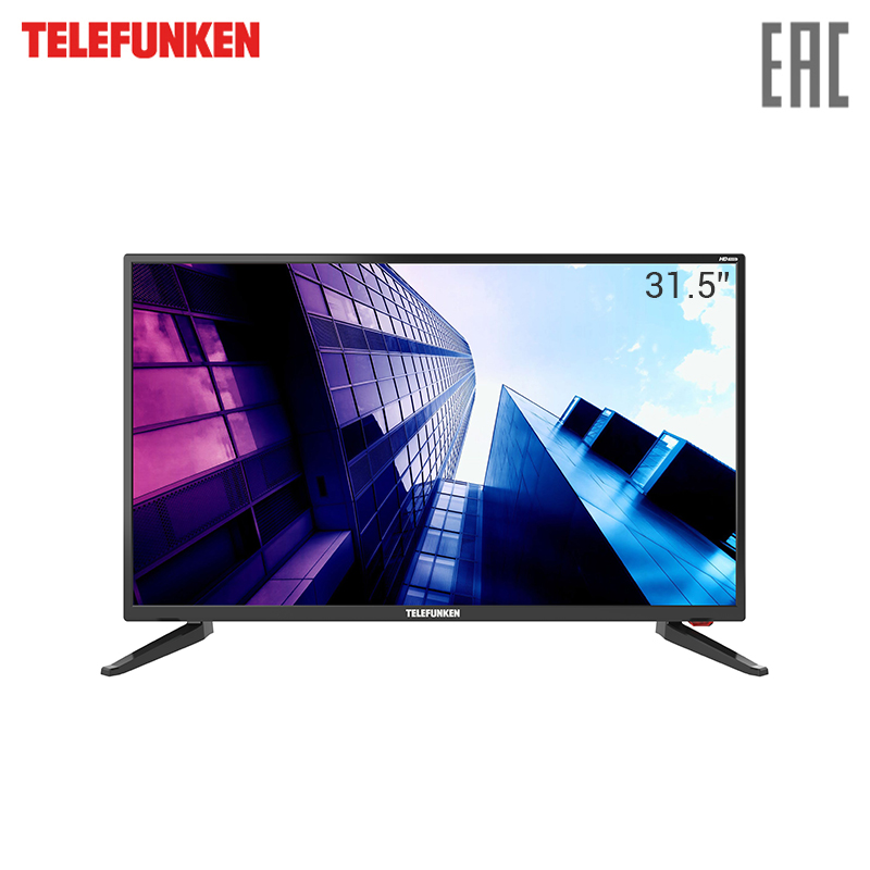 TV LED Telefunken 31.5 TF-LED32S65T2 3239InchTv HD-ready телевизор telefunken tf led32s65t2 черный