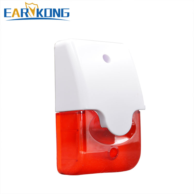 US $4 73 9% OFF|Free shipping NEW 12v burglar alarm system for GSM home  security alarm system alarm siren Russia Brazil-in Alarm Siren from  Security &