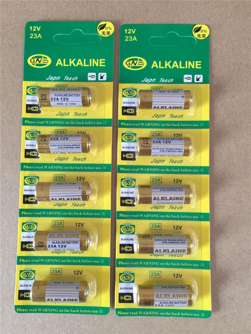 Romote Bornes 20pcs Batterie de Voiture