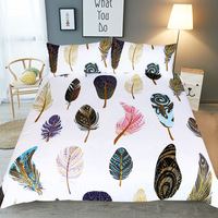Aliexpress Top 3pcs Duvet Cover Queen Bedding Sets Twin Queen King Size 1 Quilt Cover 2