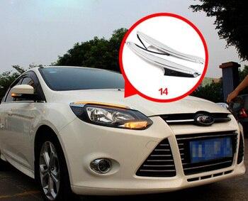 one set car bumper light for Focus daytime Light Fusion car accessories 2012~2014y LED DRL headlight for Focus fog light