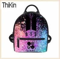 THIKIN-Women-Backpack-PU-Leather-Backpacks-BTS-Rucksack-for-Teenager-Girls-Fashion-Bagpack-Lady-Mini-Daypack