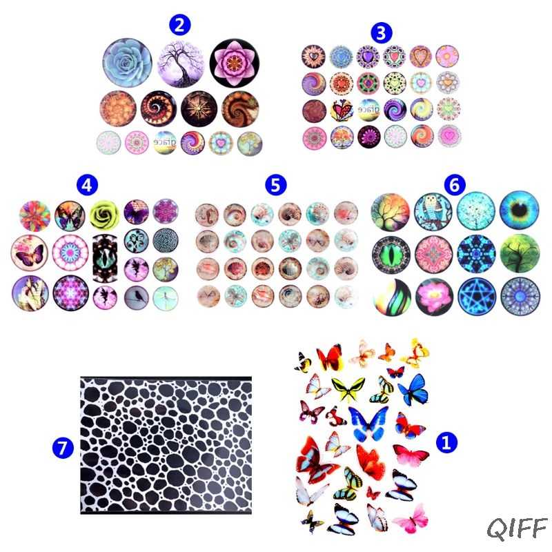 Epoxy Resin DIY Filling Material Sticker UV Crystal Silicone Molds Making Creative New Stickers