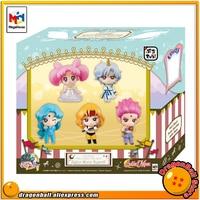 Japanese Anime Pretty Guardian Sailor Moon Original MegaHouse Petit Chara! Action Figure SuperS Set of 5 PCS
