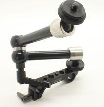 TILTA MA-T03 Monitor ARM Articulando Magia Braço w/Quick Release Grampo para Follow focus 15mm rod DSLR rig Monitor de HDMI