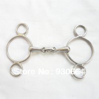 Stainless Steel Continental Gag Bit Horse Equipment Wholesale Price H0915