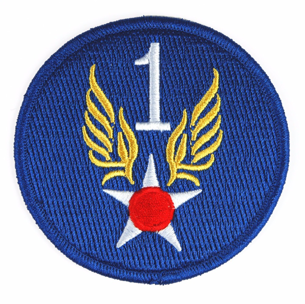 US ARMY 1ST AIR FORCE BADGE PATCH