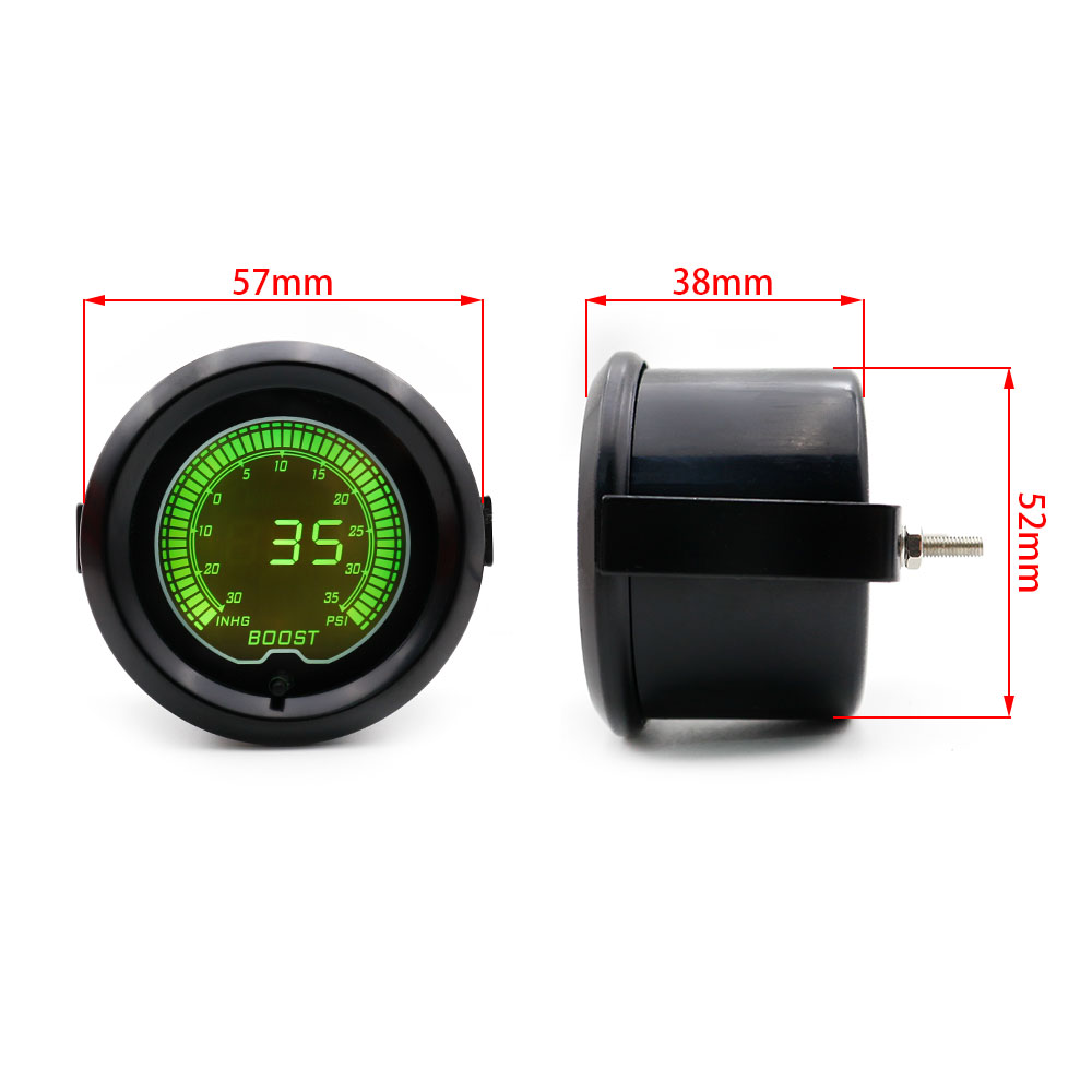Buy Boost Gauge 252mm Evo Lcd 7 Colors Turbo Psi Auto Prosport Wiring Wrx Car Meter Pressure Controller Tachometer Tags