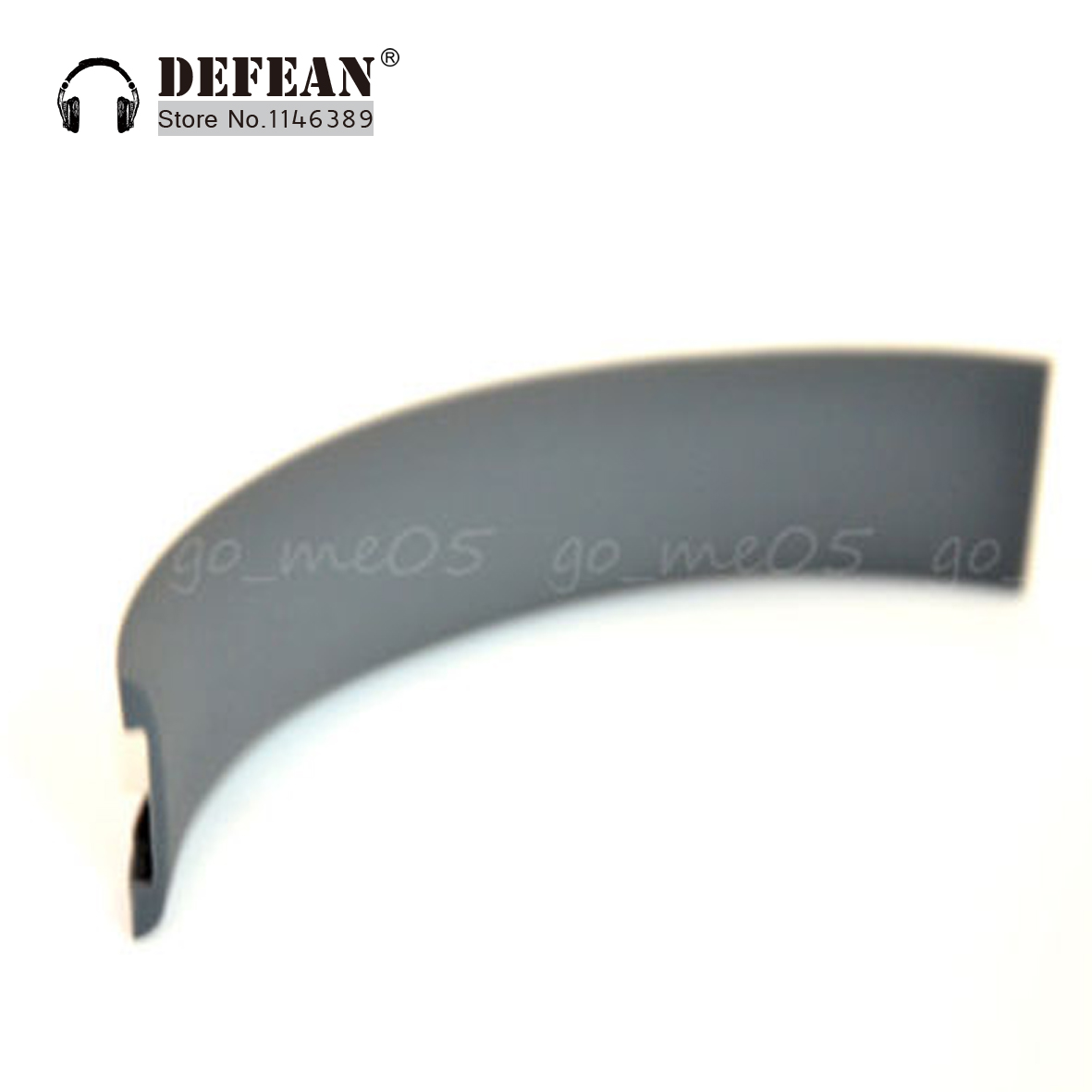New gray headband pads head band cushion for solo solo-hd HD headphones Free shipping alistore
