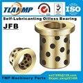 JFB2525 / 2525F (Größe: 25*35*25/45*5mm) flansch Feste-Lubricanting Oilless Graphit Messing Buchse | Kupfer Lager