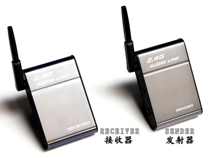 Universal 2 4GHz Wireless Speaker Transmitter Receiver Audio font b Music b font font b Box