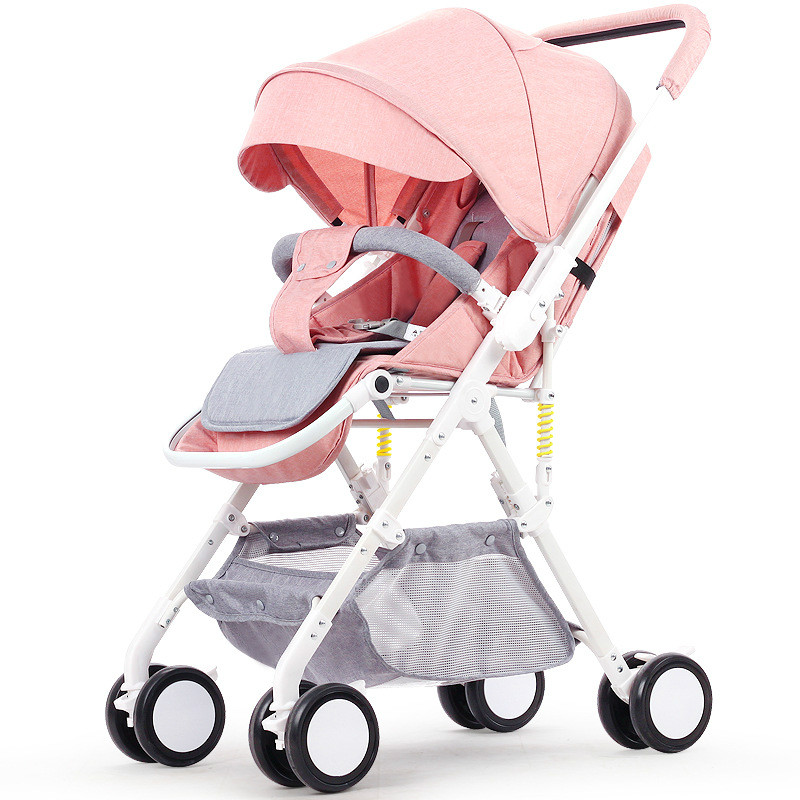 Luxury Baby Stroller High Landscape Portable Baby Carriages Folding Prams For Newborns Travel multiple styles super light luxury baby stroller high landscape folding baby car shockproof portable prams and pushchairs for newborns 4 2kg