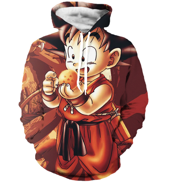 Dragon Ball Z Theme Hoodie