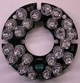 24x5 infravermelho placa ir led para câmeras de cctv 44mm câmera da bala visão noturna