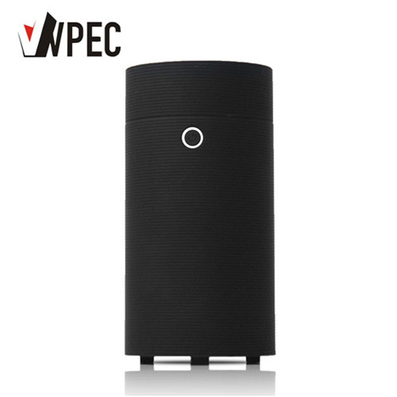 VVPEC 55ml Black Round USB Mini Essential Oil  Aroma Diffuser Ultrasonic Air Humidifier Cool Mist Maker For Car Office|Humidifiers| |  - title=