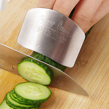 DINIWELL Kitchen Cooking Tools Stainless Steel Finger Hand Protector Guard Personalized Design Chop Safe Slice Knife Tools smart kitchen accessories stainless steel cutting finger hand guard protector slice shield new design kitchen cooking tool