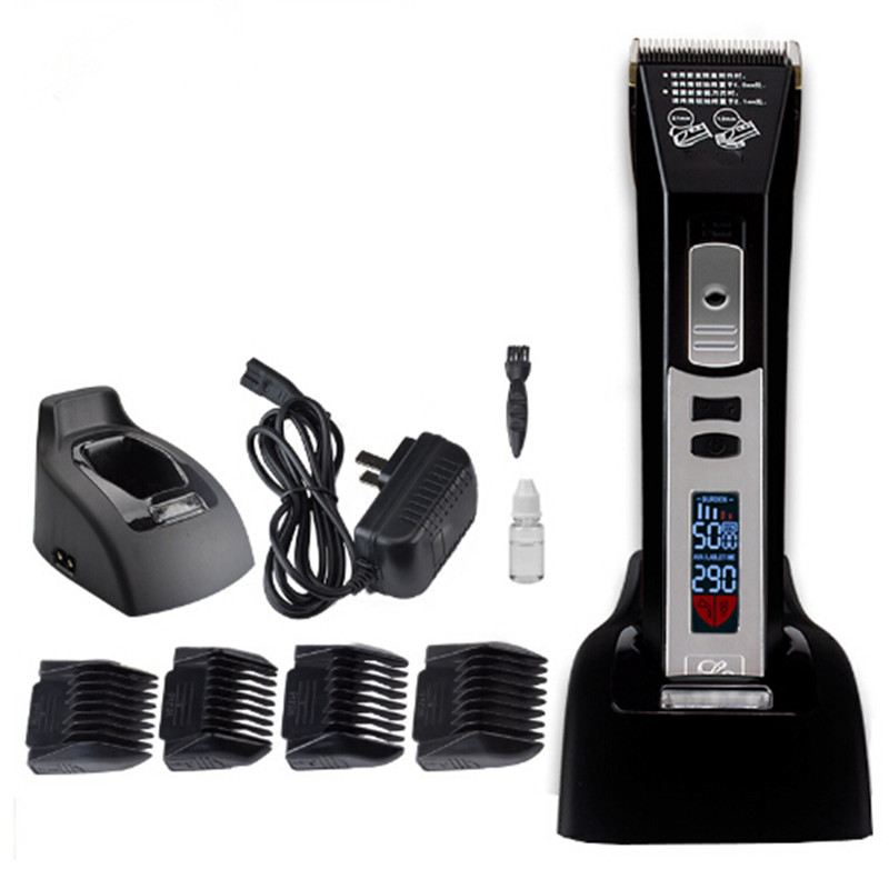 Electric Hair Clipper Rechargeable Hair Trimmer LCD Professional Haircut Machine Hairclipper Barber Salon Hairdressing newview electric hair trimmer rechargeable hair clipper professional haircut machine barber salon beard trimmer hairclipper