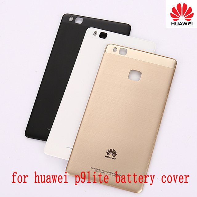 purchase cheap 6fa55 ba2c5 US $5.59 20% OFF|Original Battery case For Huawei P9 Lite Back Housings  Door Replacement Repair for Huawei P9lite Battery Cover-in Mobile Phone ...