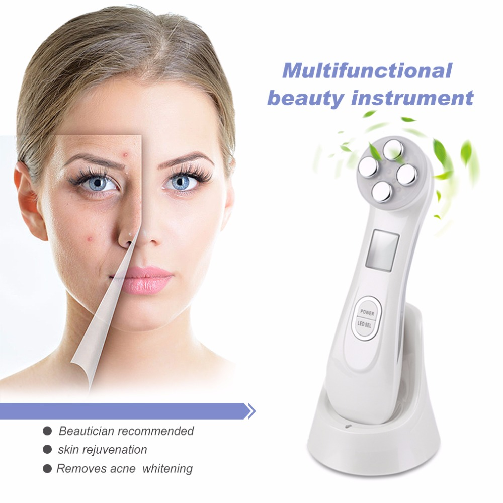 Professional Women Facial Care Instrument  Vibration Massager Beauty Instrument Anti-Wrinkle Acne Remove Machine Top quality hot facial beauty skin care health beauty instrument ph 1 equipment ultrasonic whitening anti acne pimples aging wrinkles r